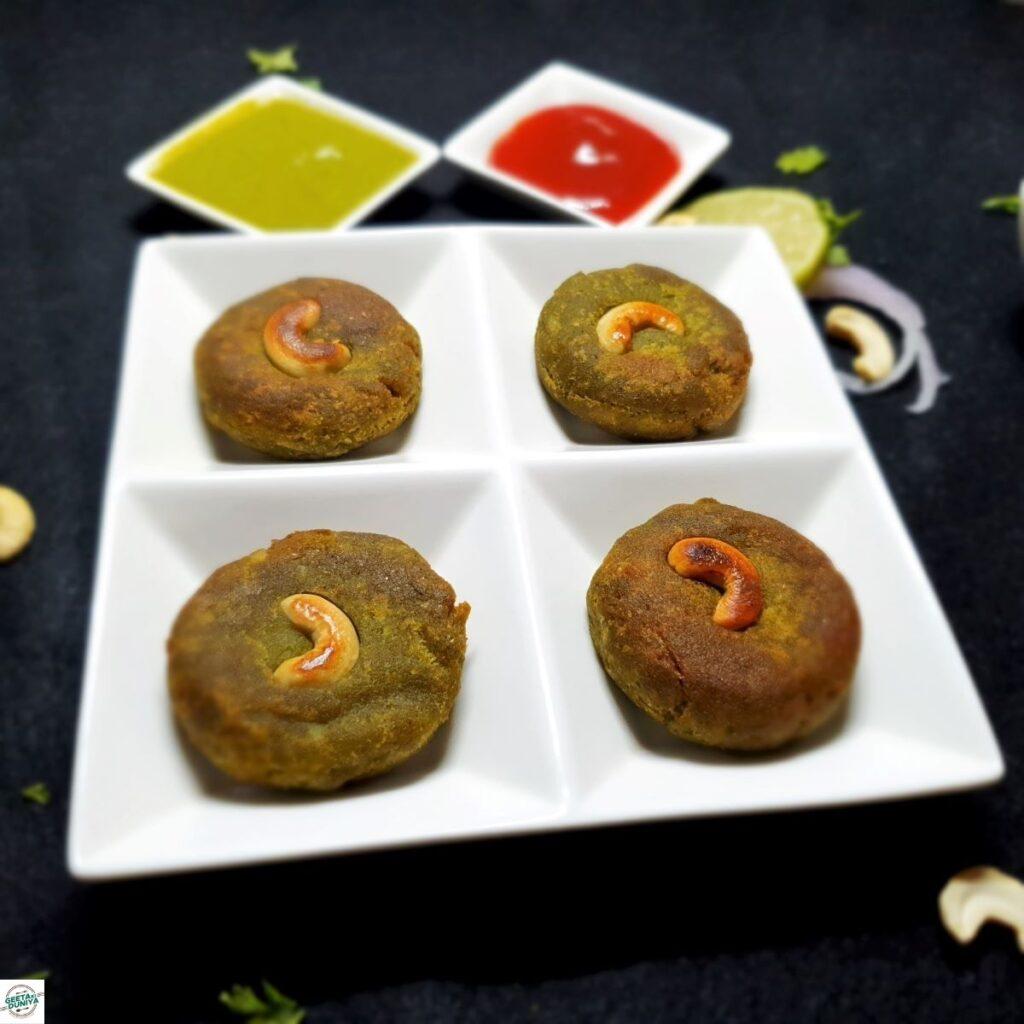 hariyali kabab veg
