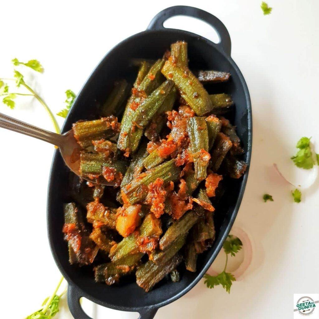 bhindi fry recipe main pic