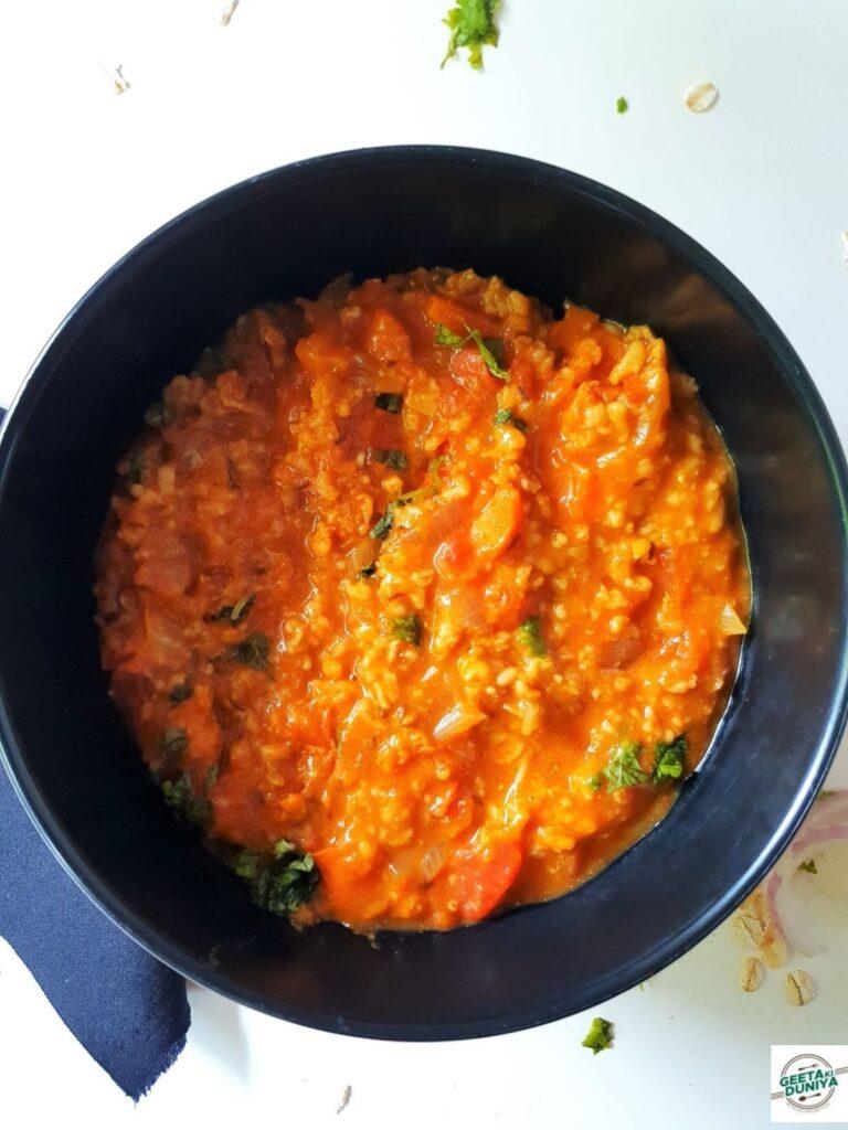 vegetable masala oats