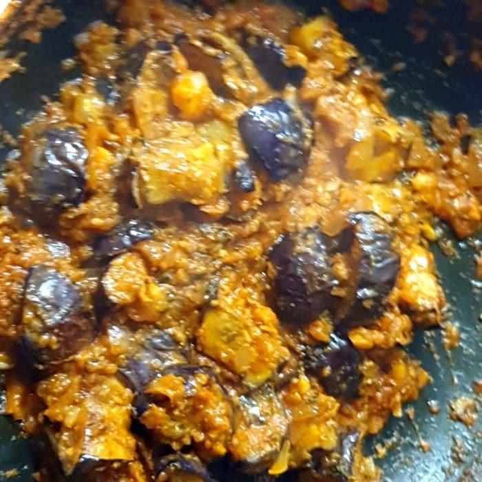 baingan ki sabji recipe step 15