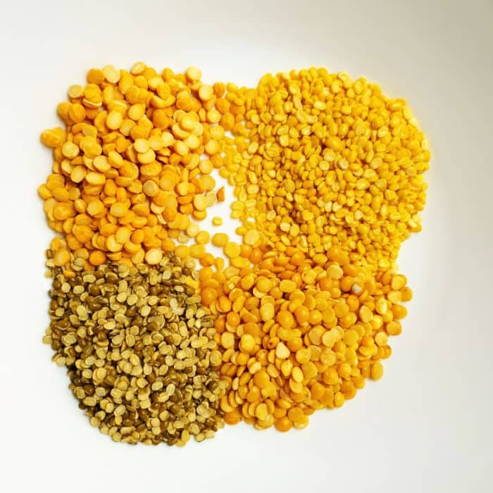 mix dal recipe step 1. 4 mix dals before cooking