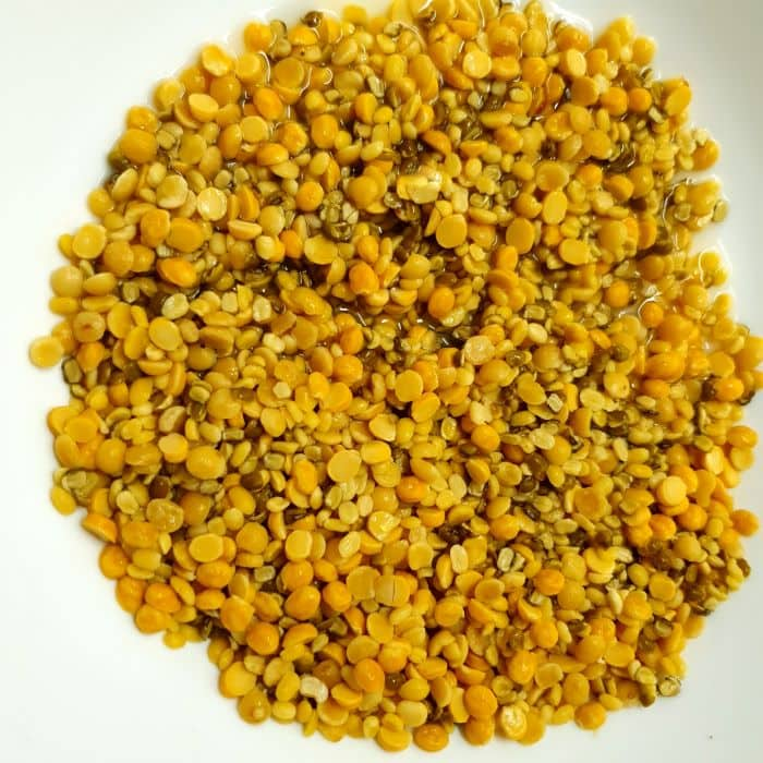 mix dal recipe step 6-washed 4 mixed dals